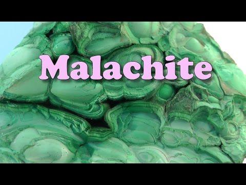 MY ROCKS - Malachite, pale green specimen