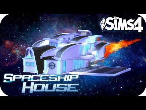 Los Sims 4 Speed Build 🚀 INCREÍBLE NAVE ESPACIAL (Casa Ovni) thumbnail