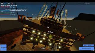 Épave de navire simple Roblox Tiny-Ships (en)