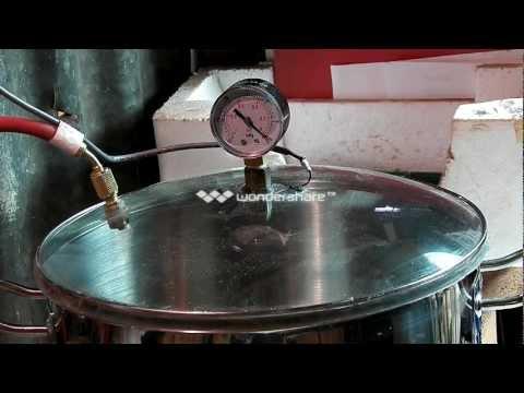 Stabilising vacuum pot test 2