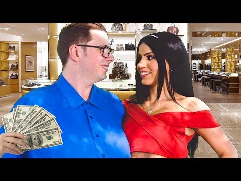 GOLD DIGGER THINKS SHE CAN BUY WHATEVER SHE WANTS