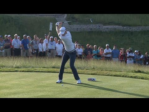 Thumbnail: Golf fans hit Erin Hills to see the pros up close