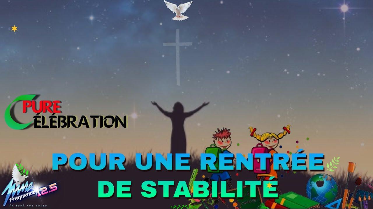 CPURE CÉLÉBRATION POUR UNE RENTRÉE DE STABILITÉ