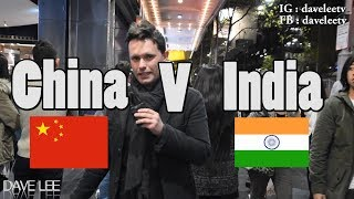 Are Chinese Guys or Indian Guys More handsome - China v India