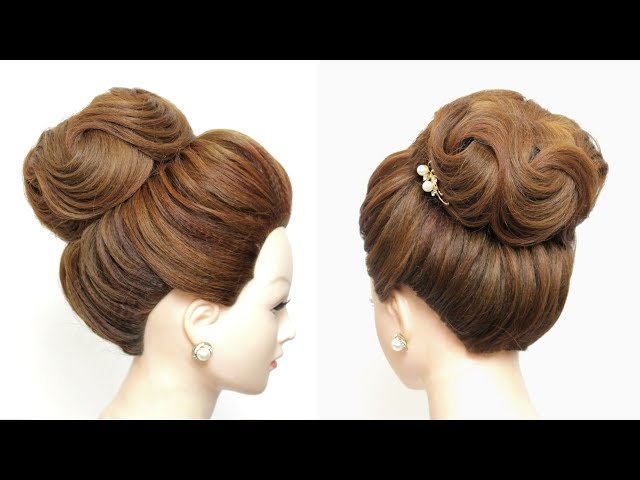 New Hairstyle For Girls. Latest High Bun.
