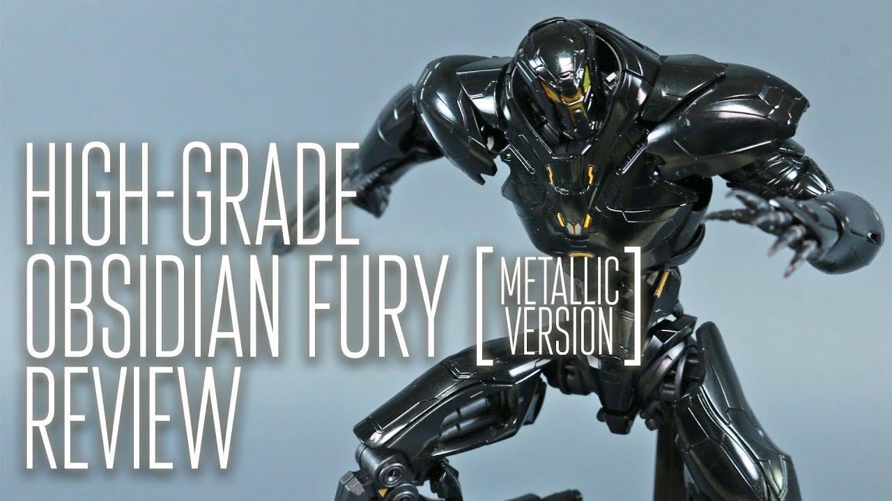 24768 Pacific Rim Uprising HG Obsidian Fury Bandai Model Kit
