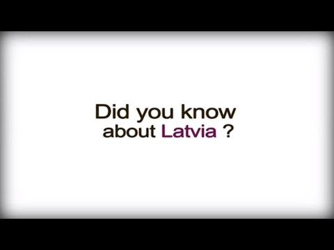 Did you know? - Latvia - Latvian Business Culture video