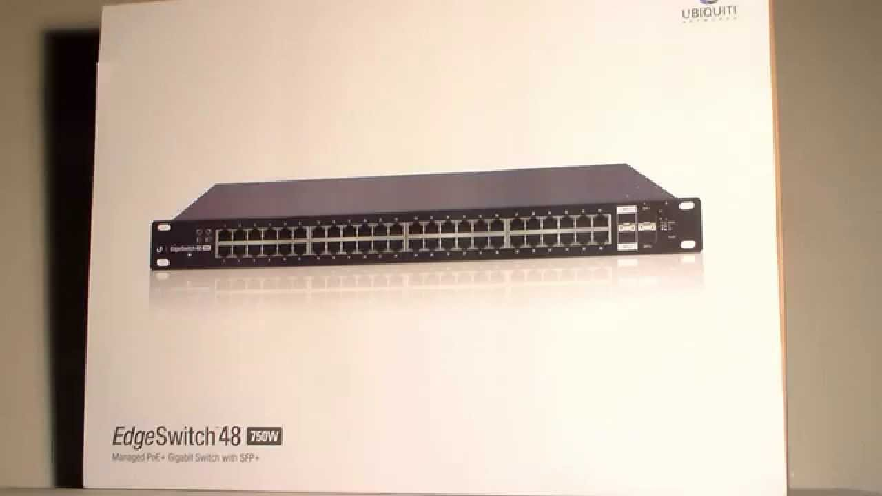 DRIVER: UBIQUITI EDGESWITCH ES-48-750W SWITCH