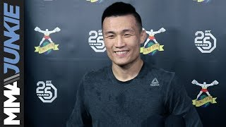 UFC Denver: Chan Sung Jung full open workout media scrum