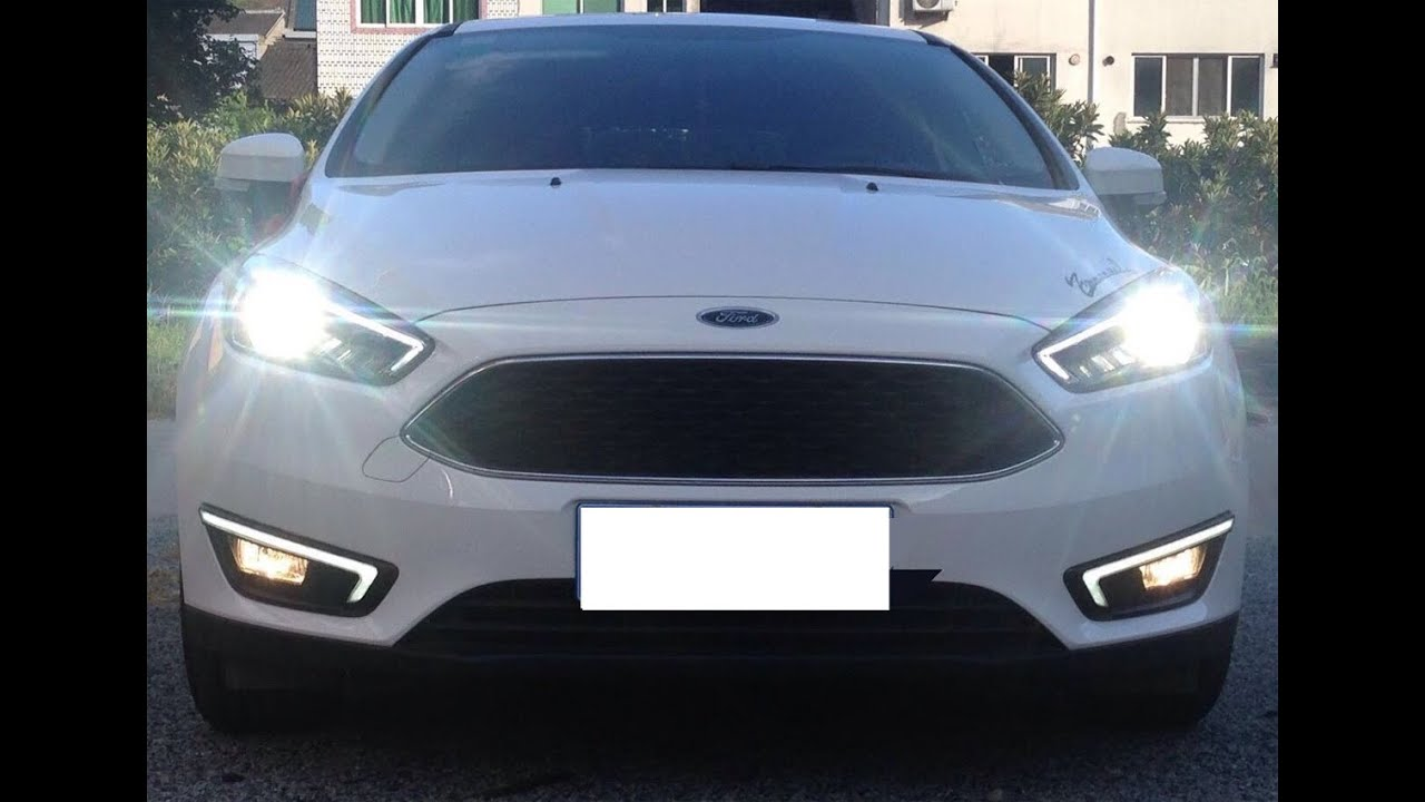 Ijdmtoy Led Daytime Running Lights For 2017 Up Ford Focus