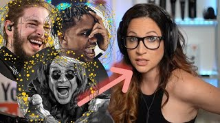 Vocal Coach Reacts - Post Malone, Ozzy Osbourne, Travis Scott - Take What You Want.