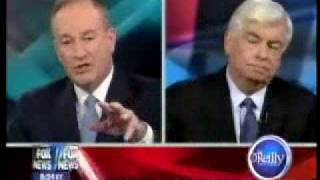 Bill O'Reilly vs. Senator Chris Dodd over The Daily Kos