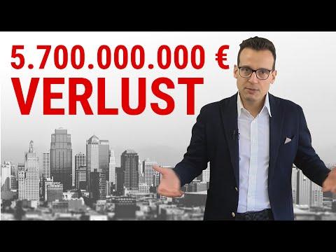 Deutsche Bank mit 5,7 Milliarden Verlust! Der Anfang vom Ende?