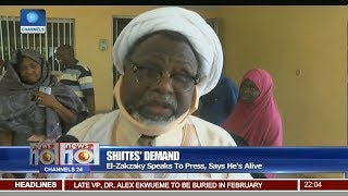 IMN Leader Zakzaky Thanks Nigerians For Their Prayers