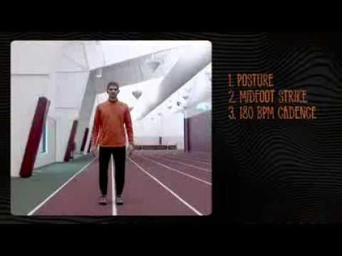 Merrell Barefoot Bare form Running Technique