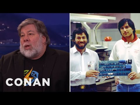 Steve Wozniak Interview Part 1 03/07/16  - CONAN on TBS
