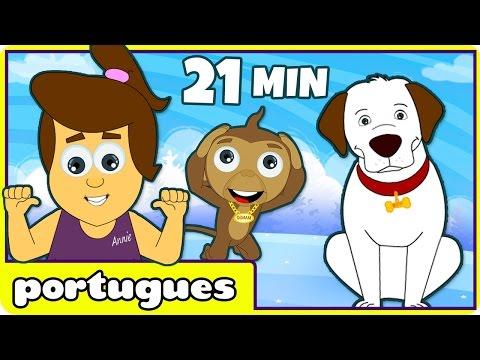 Heads Shouders Knees and Toes | Músicas Crianças Pará | Nursery Rhymes in Portuguese
