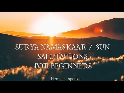 surya namaskaar / sun salutations for beginners day 2