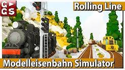 Modelleisenbahn Simulator 🚂 ROLLING LINE deutsch