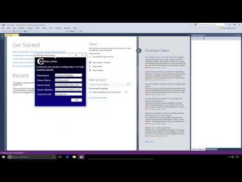 DNN9 Series Video 11 - Creating And Packaging A Module In DNN 9