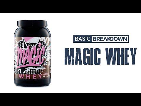 Magic Whey Protein Powder Supplement Review   Basic Breakdown