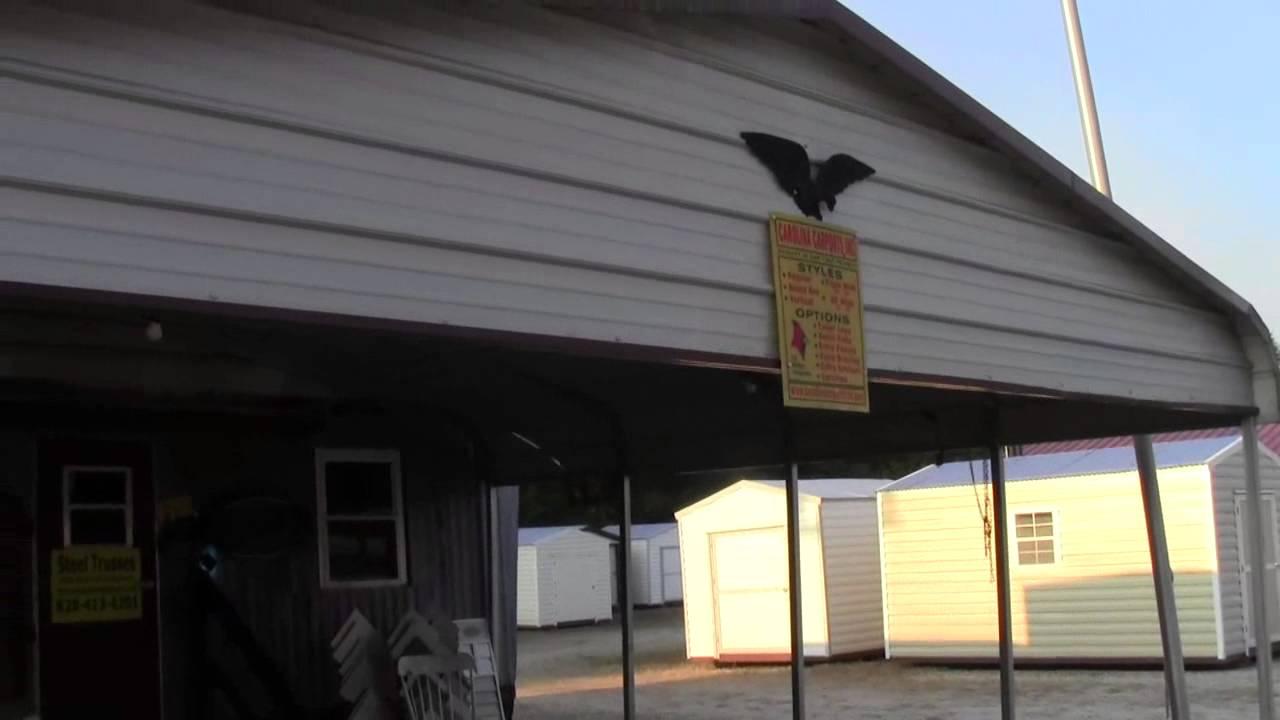 Carolina Carports Garages And Barns Quot Any Size Quot Youtube
