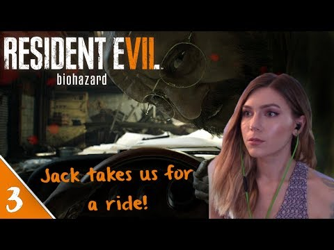 Jack Takes Us For A Ride! | Resident Evil 7 Pt. 3 | Marz Plays