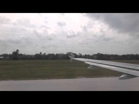 Taxiing in GCM -  Owen Roberts International Airport