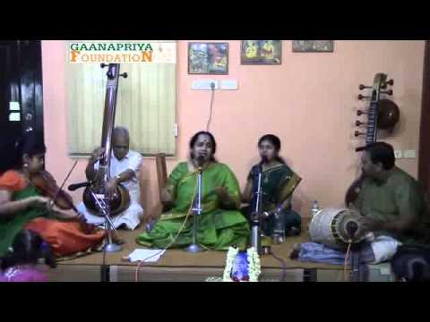 Geetha Raja - Balavinave - Kambhoji - Kshetrayya padam