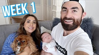 One of ALEXandMICHAEL's most viewed videos: FIRST WEEK WITH NEWBORN BABY | ALEX AND MICHAEL