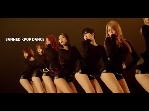 HOT KPOP BANNED DANCE 2017