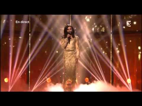 Eurovision 2014 Final Winning Performance Austria Conchita Wurst Rise Like A Phoenix