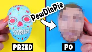 Squishy Makeovers! PewDiePie jako Squishy | Przerabiam Squishy