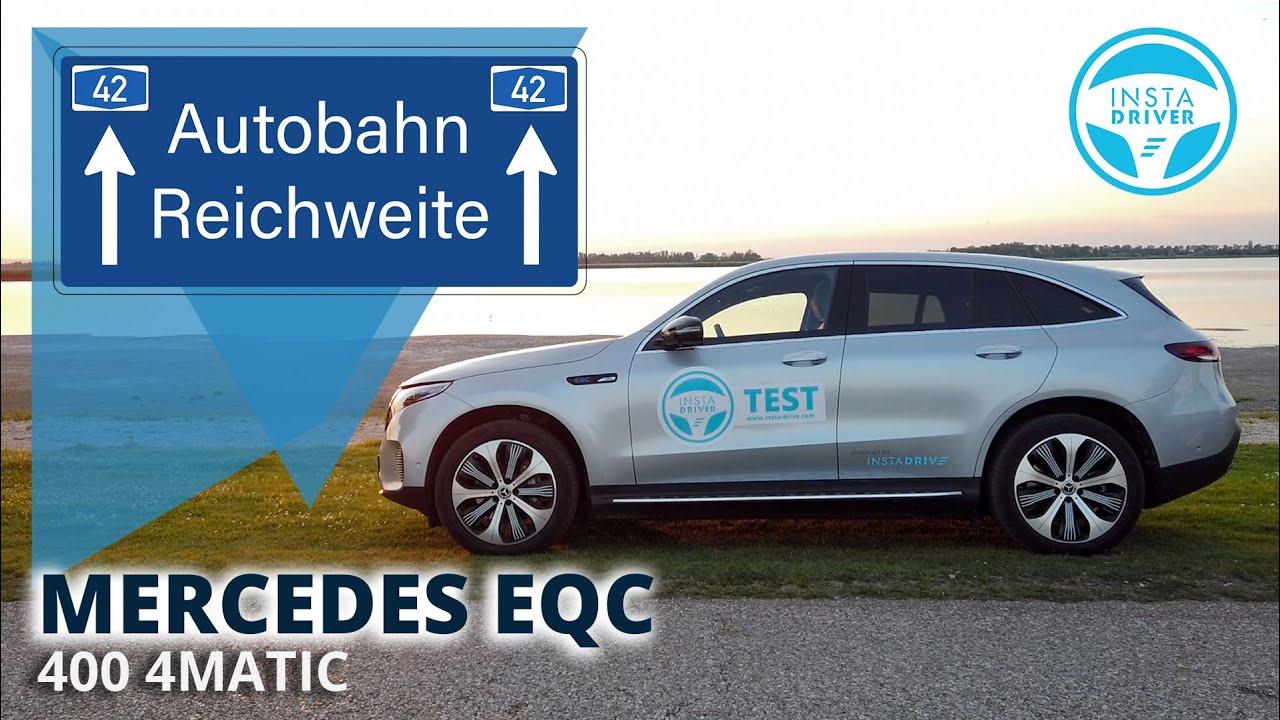 Mercedes EQC | DER AUTOBAHN TEST - Reichweite & Verbrauch