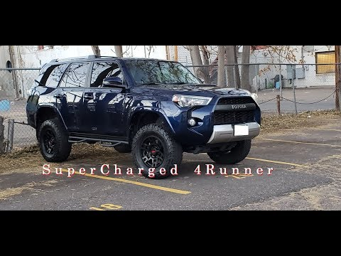 Magnuson Supercharged 2017 4Runner - My Experience