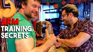 We Trained Like Pro Arm Wrestler For a Day | Devon Larratt