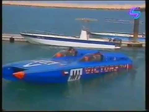 VICTORY TEAM class 1 offshore powerboat racing