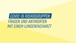 Risikogruppen Spezial: Fragen und Antworten mit einem Lungenfacharzt - Dr. med. Frisch