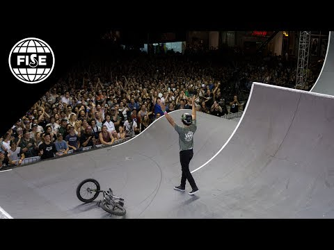 FISE Montpellier 2017: SFR Sport BMX Freestyle - Spine Ramp Pro Final