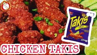 How to make Chicken(takis) Fried Chicken  Crispy Chicken  Kanamit Gid