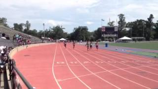 Gabrielle Rice and Kasey Jett in 100m Prelim Thumbnail