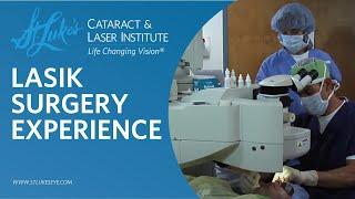 Tampa LASIK Surgery Experience at St. Luke's