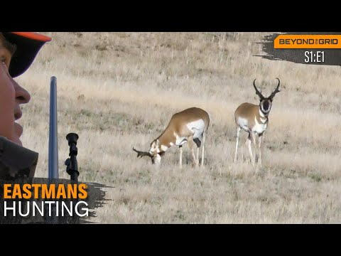 Hunting Trophy Antelope In Wyoming