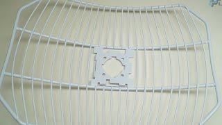 Від Ubiquiti AirGrid м2 компанія HP 16dBi (АГ-компанія HP-2G16) розпакування (анбоксинг)