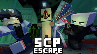 ALL SCP Escape City!! - [ Full Part ] Minecraft Animation