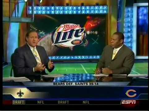 NFL Primetime Bears and Saints 2007 NFC Championship Game