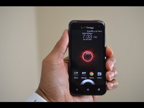 DROID Incredible 4G LTE Unboxing and Overview