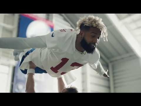 Odell Beckham Jr And Eli Manning Dancing Moves Super Bowl Commercial 2018
