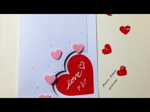 Make an Easy Love Card - DIY Crafts - Guidecentral