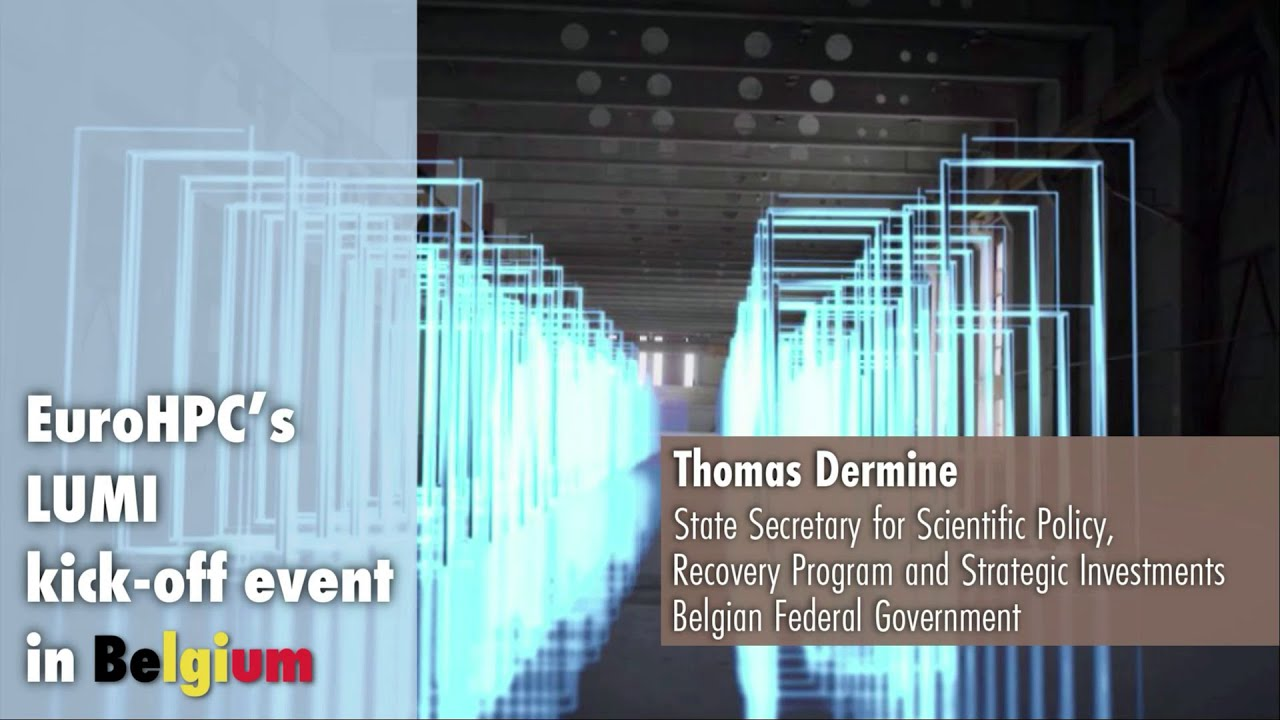 LUMI Kickoff Presentation | Thomas Dermine